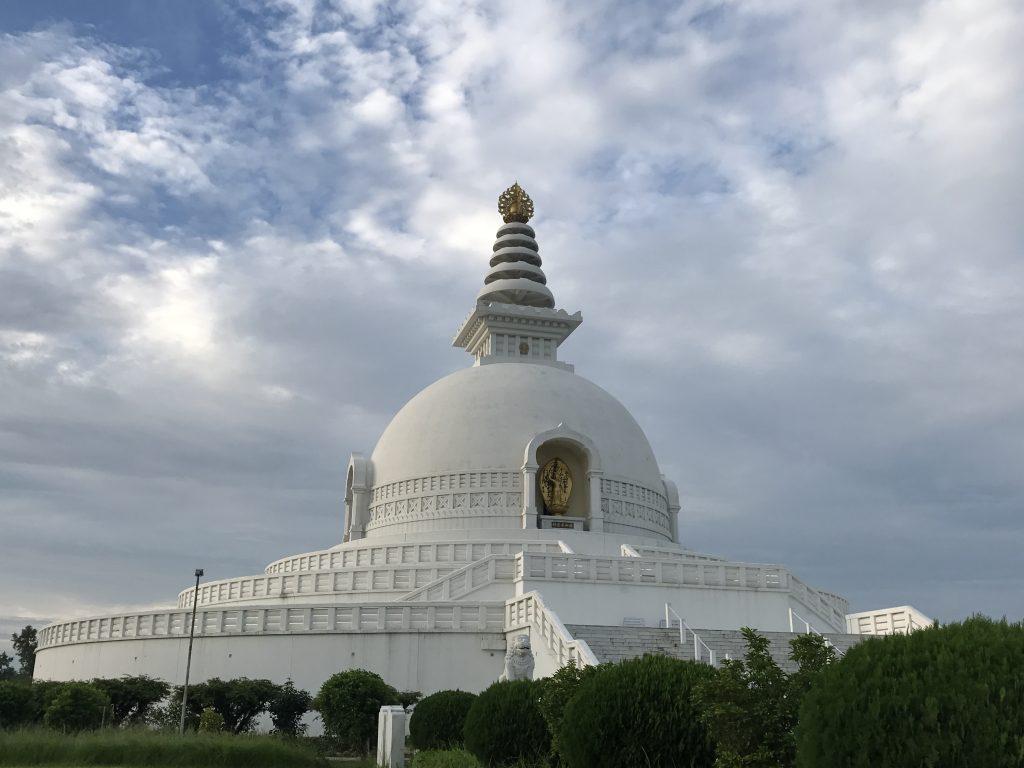 Peace stupa Lumbini