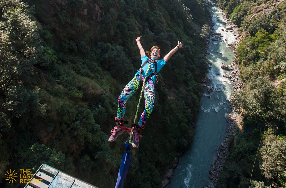 Bunjy Jumping in Nepal