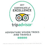 Trip Advisior Excellence 2017
