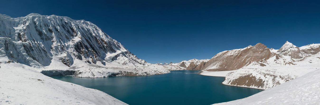Tilicho Lake trekking in spring