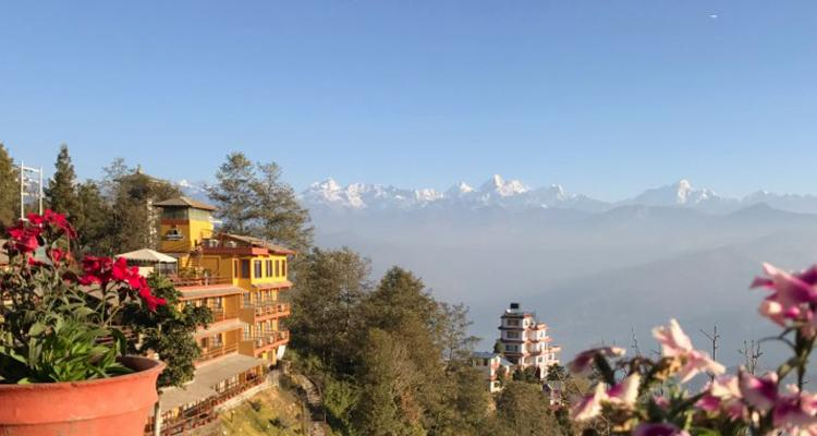 Beautiful Himalayan Range from Nagarkot 92