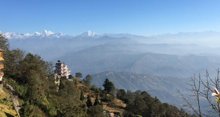 View from Nagarkot during Family trip 99