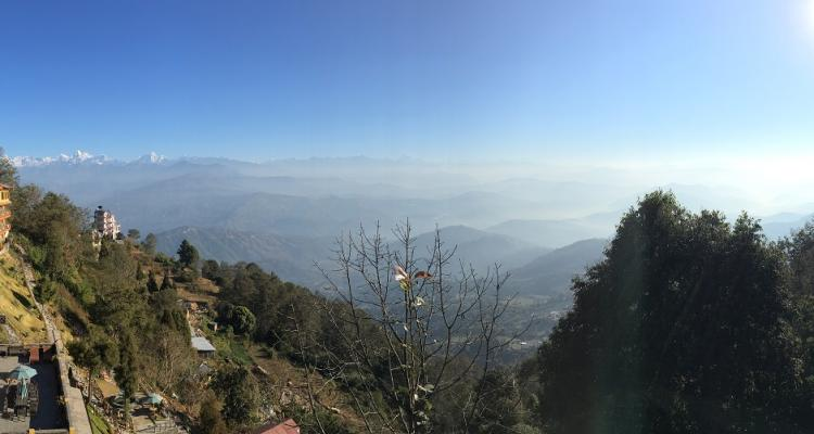 Himalayan range View from Nagarkot 56