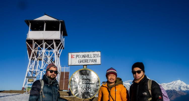 Short Poon Hill Trek 2020 159