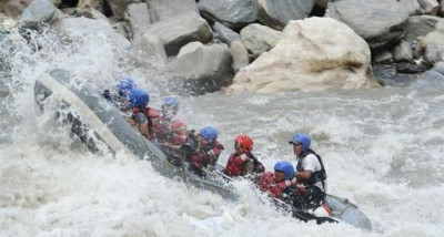 Upper Seti River Rafting 65