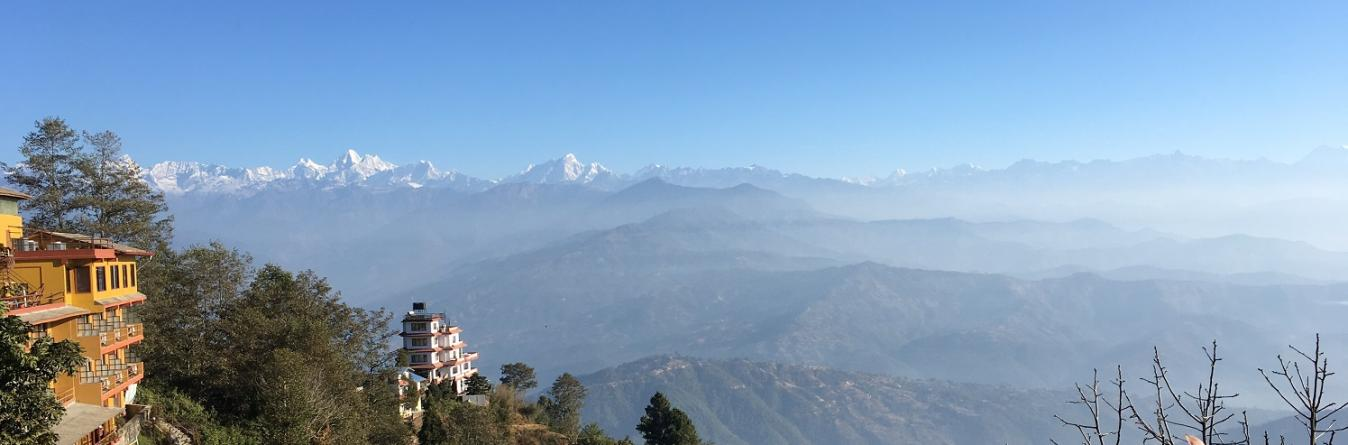 View from Nagarkot during Family trip