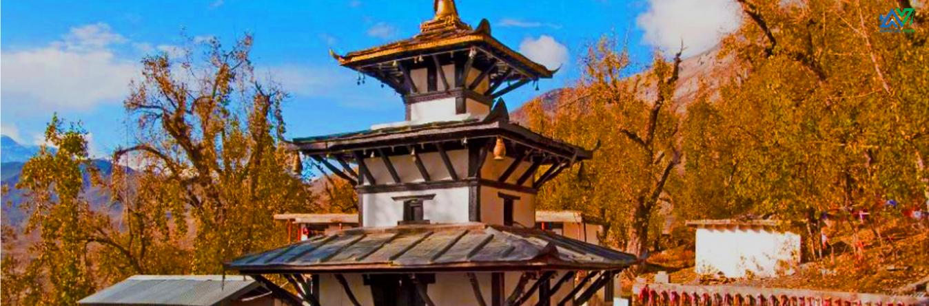 Muktinath Temple in Mustang