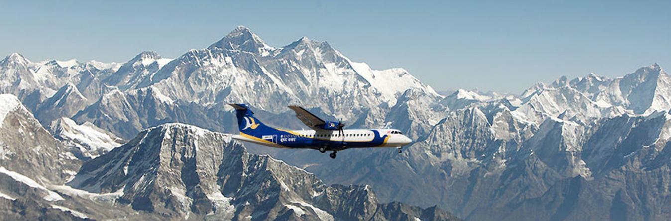 Mountain Flight in Everest