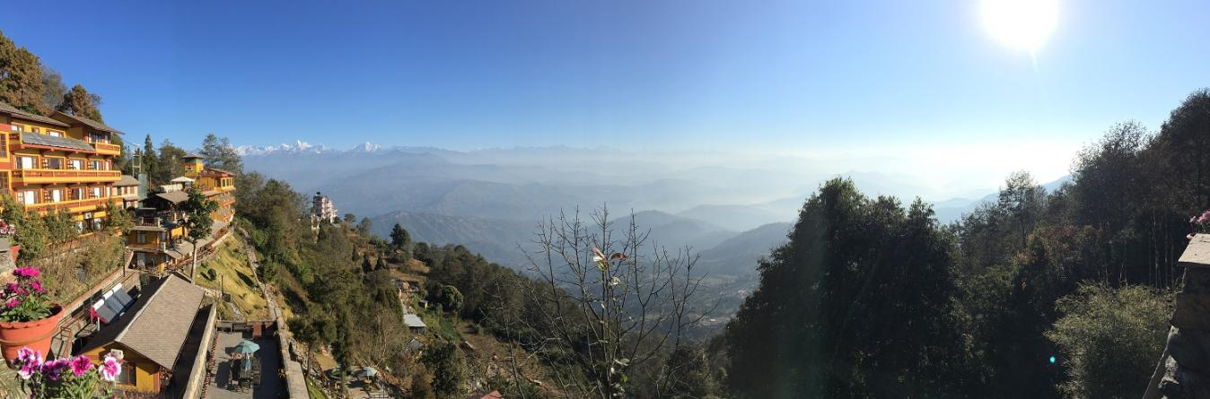 Himalayan range View from Nagarkot