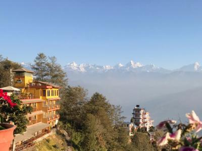 Beautiful Himalayan Range from Nagarkot
