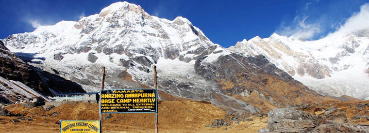Annapurna Base camp view