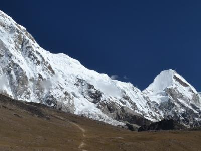 Himalaya Range view during Everest Base Camp Trek