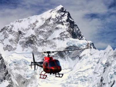Heli Tour in Mt Everest