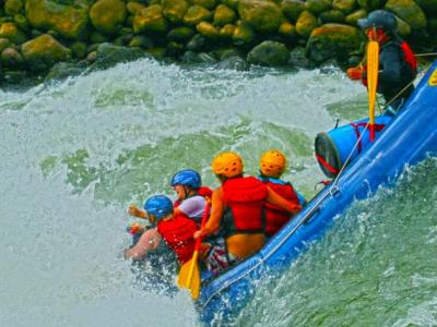 White Water river rafting in Karnali