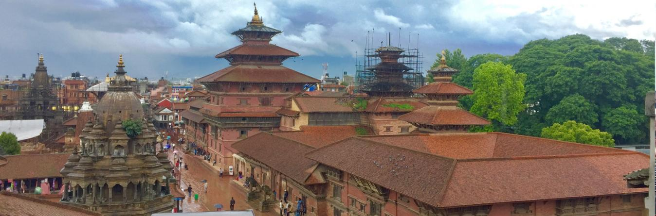 Patan Durbar Square and its periphery